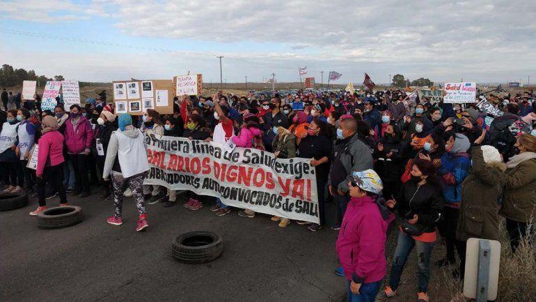 Trabajadores de Salud cortan la Ruta 22 en Arroyito y la 40 en Junín de los Andes