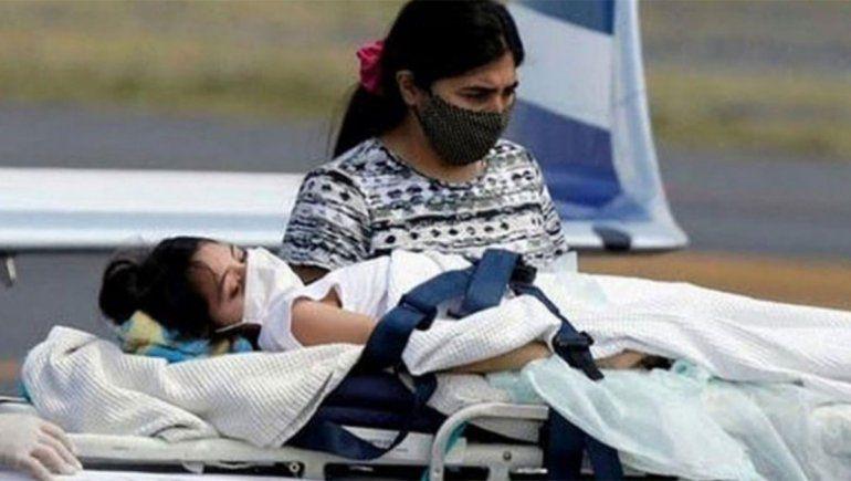 Murió Abigail, la nena con cáncer que no habían dejado entrar a Santiago del Estero