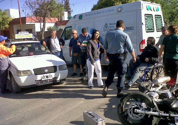Accidentada mañana en Cipolletti: hubo 4 choques