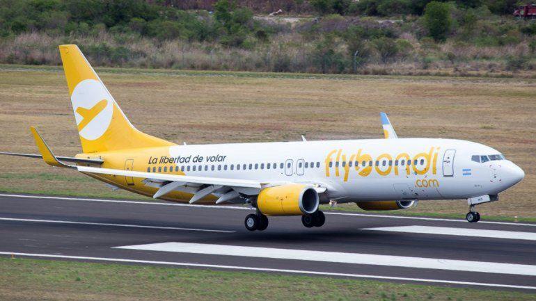 Flybondi recibió una inspección de ANAC y la Justicia secuestró el avión