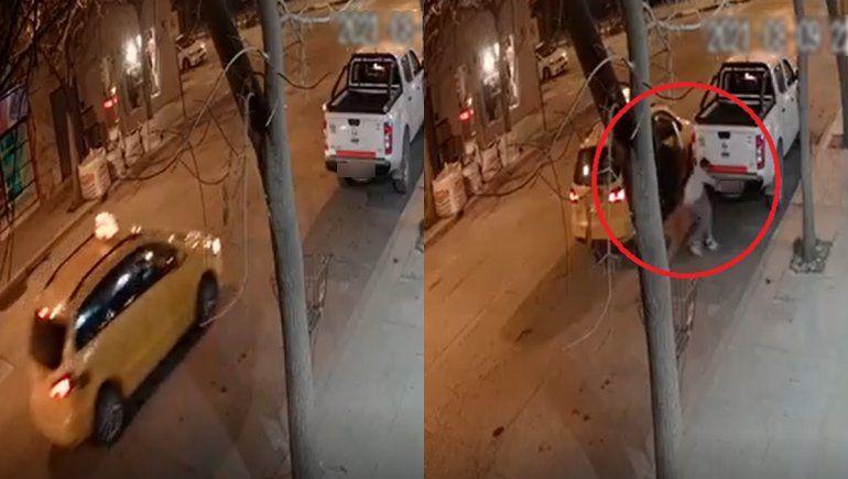 En complicidad con un taxista, se robó una rueda de auxilio en pleno centro cipoleño