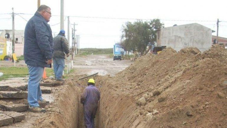 Reactivarán la obra de agua en el barrio Costa Esperanza