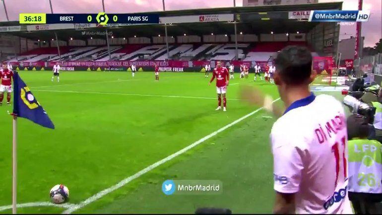 El gol olímpico de Di María, el blooper de Neymar y otra frustración del PSG