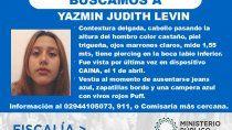 Los datos de la adolescente desaparecida ya fueron informados.