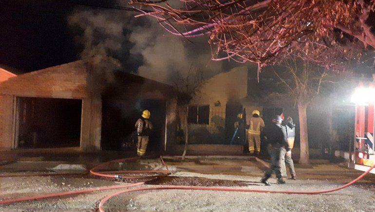 Desastre en Cipolletti: terrible explosión en medio de una cena familiar