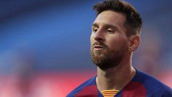 sorpresa en barcelona: messi no jugara por champions