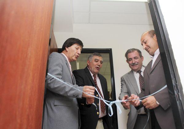 Inauguraron oficinas para magistrados y funcionarios de la Cuarta Circunscripción