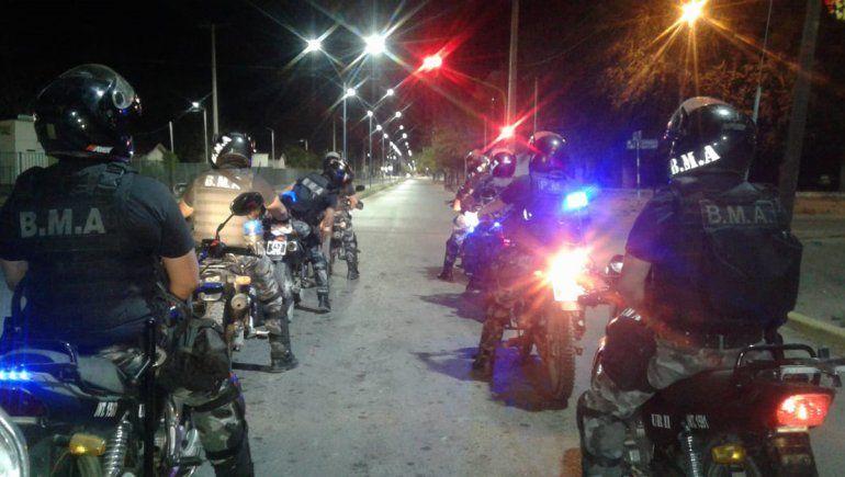 Tras un operativo, hallaron en Cinco Saltos una moto robada en Neuquén