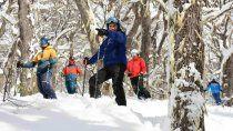 El esquiador que hace al Perito Moreno una experiencia única