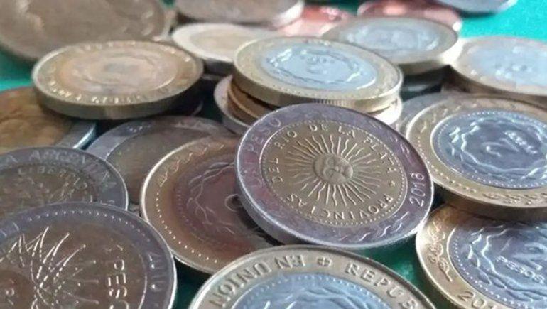 Las monedas de un peso con error no valen tanto, pero aconsejan guardarlas