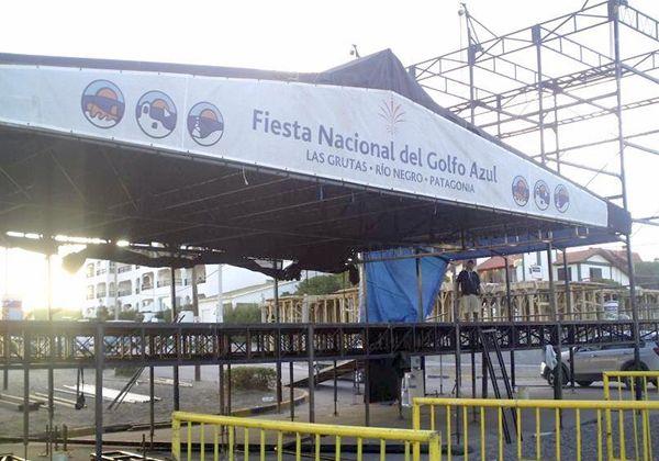 Con Gustavo Cordera se abre el telón en Las Grutas