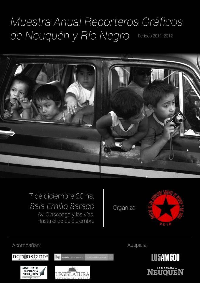 Muestra de los reporteros gráficos de Río Negro y Neuquén 2012