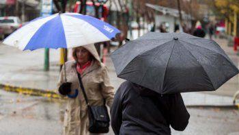 pidieron precaucion ante el pronostico de lluvias en el alto valle