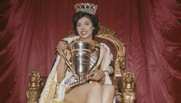 La primera Miss Mundo argentina fue atropellada por un colectivo