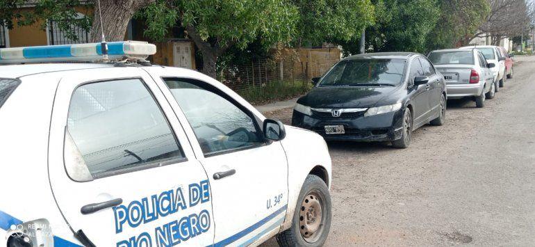 Detenidos por andar a los tiros en el barrio Ceferino.