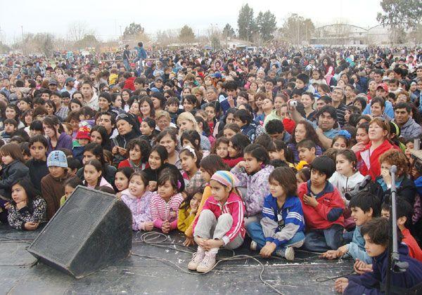 Parque Norte desbordó de niños