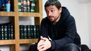 Grabois criticó al Gobierno y prometió dejar el predio