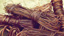 Fueron sustraídos más de 16 mil metros de cables