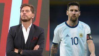 Vignolo hizo justicia con el Huevo Acuña y mufó sin querer a Messi