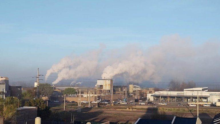 Qué dijo el Municipio por el humo de las papeleras