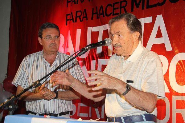 Mendioroz lanzó en Allen su precandidatura a gobernador