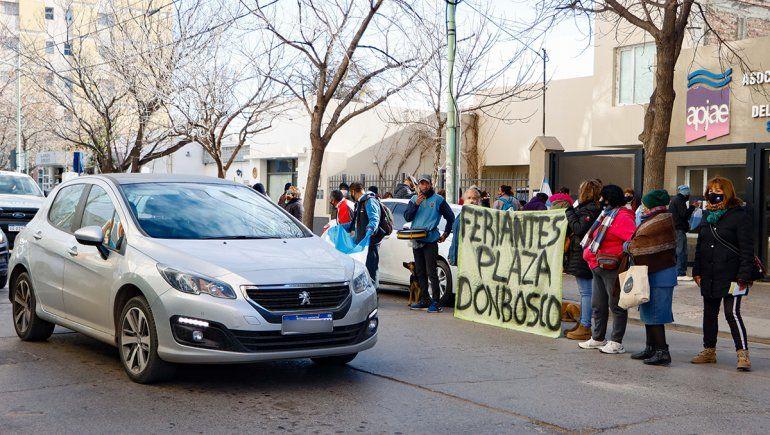 Feriantes del Don Bosco mantienen firme su postura: