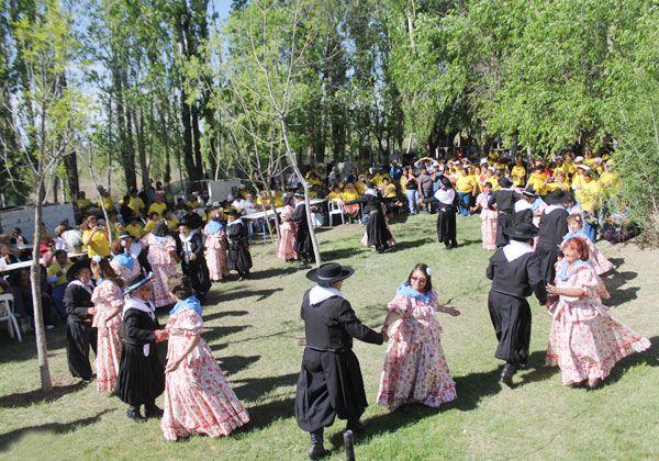 El baile fue el protagonista de la jornada en las Olimpíadas de la Tercera Edad