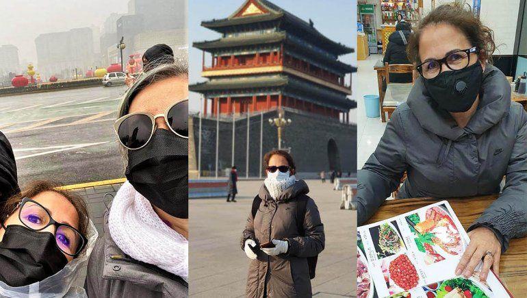Coronavirus: Al regresar de China, en Argentina fue el único lugar donde no nos controlaron