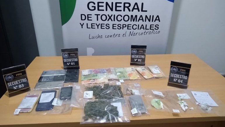 La Policía desarticuló puntos de venta de droga en Allen