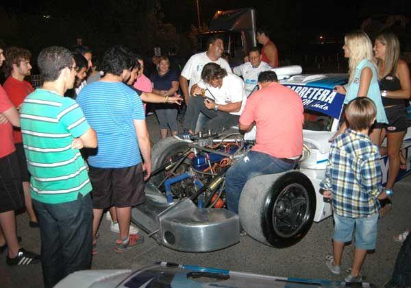 Manuel Urcera tuvo su Show Cars