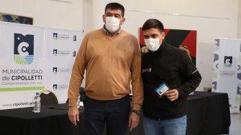 cipolletti es la primera en entregar carnets nacionales de manipulacion de alimentos