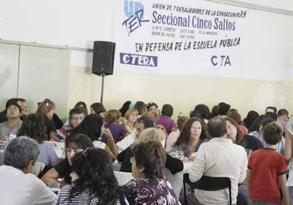 Congreso de la UnTER en Cipolletti