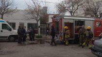 un muerto en un incendio en el centro de cipolletti