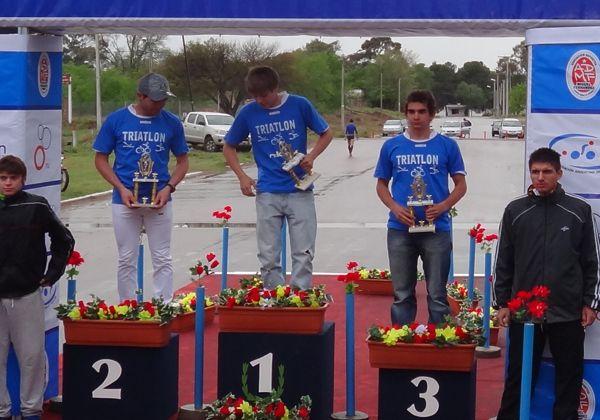 Cipoleños coparon el podio en el Duatlon en La Pampa