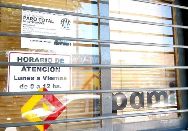 Paro en el PAMI: en Cipolletti hubo un acatamiento total