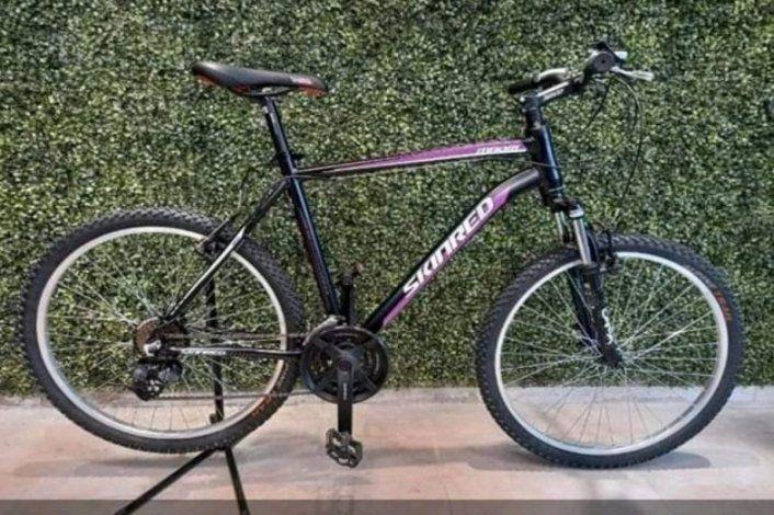 Buscó y pagó para recuperar la bici que le habían robado