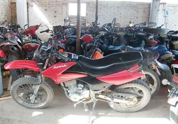 Secuestran 14 motos en Fernández Oro