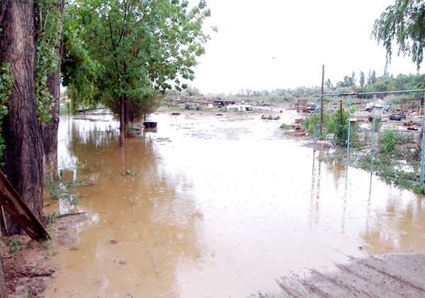 Sobre llovido, mojado