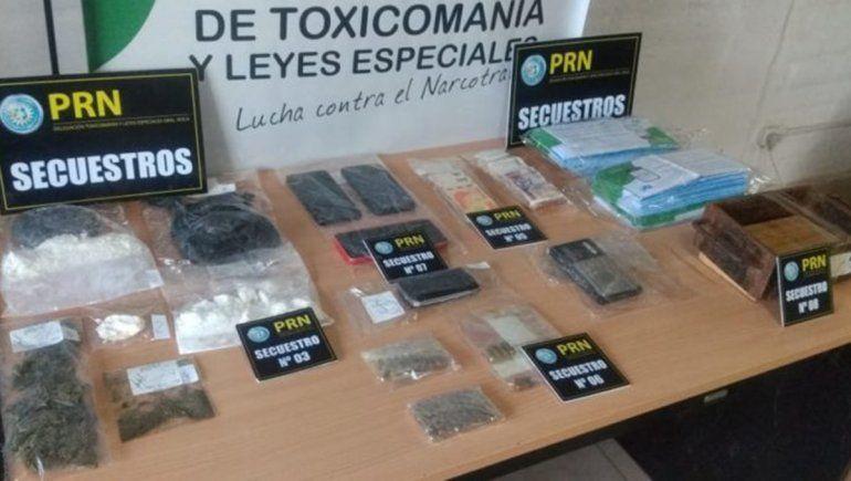 La Policía desarticuló otro kiosco de droga en el Alto Valle