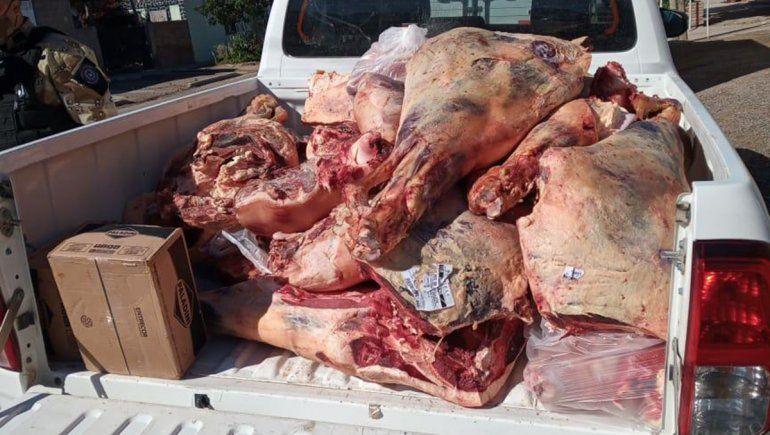 Decomisaron carne podrida durante un operativo en San Antonio Oeste