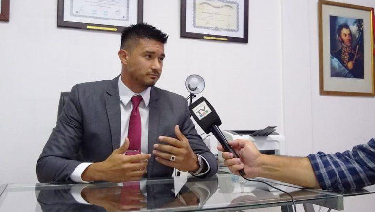 Ángelo Zamataro Amaranto abogado de la joven que denunció a Axel por abuso sexual.