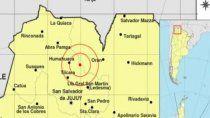 sismo de 6.1 sacudio la provincia de salta