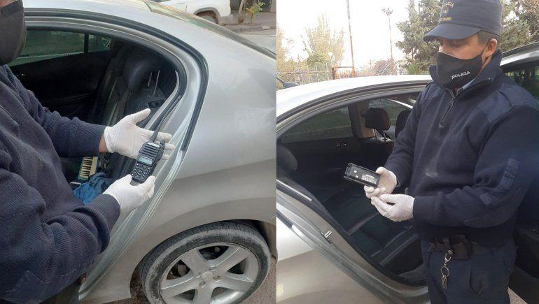 Detienen a dos ladrones de autos con inhibidores de alarmas