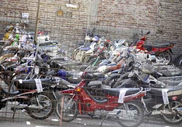 Podrían reutilizar vehículos del Depósito Municipal