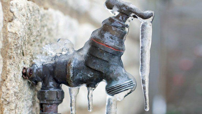 Qué hacer para evitar que se congelen las cañerías
