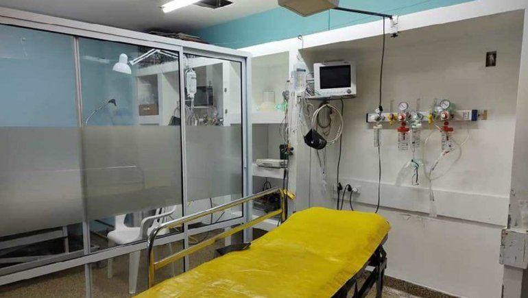 Avanza la obra de ampliación de gases medicinales en el hospital de Villa Regina