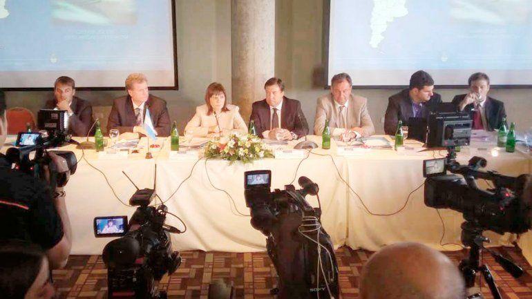 Bullrich y Weretilneck presidieron la reunión del Consejo de Seguridad.