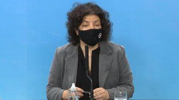 vizzotti confirmo que se impondran restricciones por la suba de casos