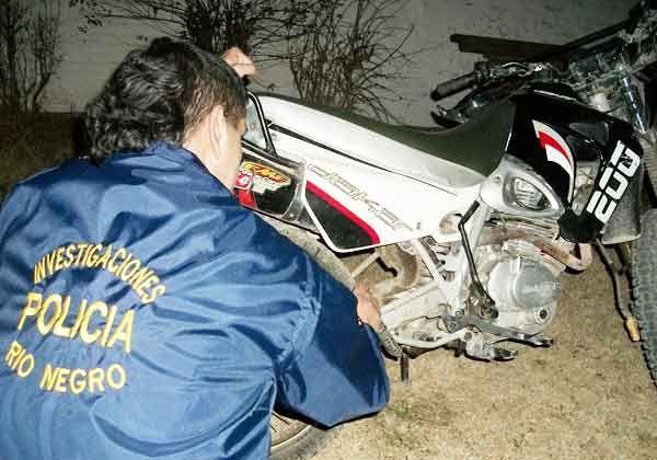 Recuperaron una motocicleta robada