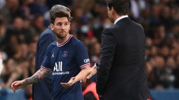 Pochettino reveló el tenso diálogo con Messi tras el polémico cambio